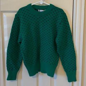 VINTAGE girl's sweater